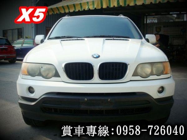 X5 BMW 寶馬 E53 01年白  照片2