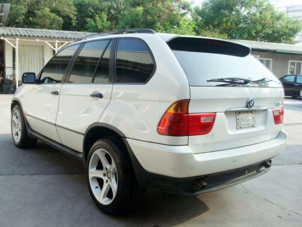 X5 BMW 寶馬 E53 01年白  照片3