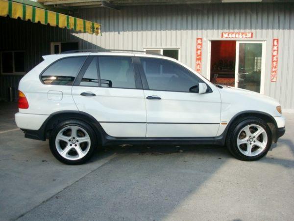 X5 BMW 寶馬 E53 01年白  照片4