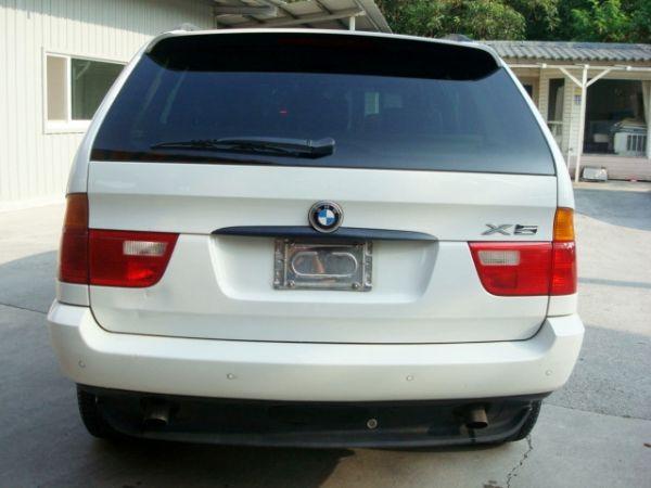 X5 BMW 寶馬 E53 01年白  照片5