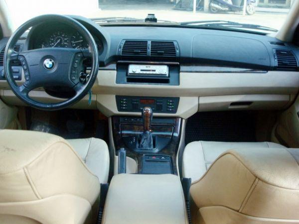 X5 BMW 寶馬 E53 01年白  照片6