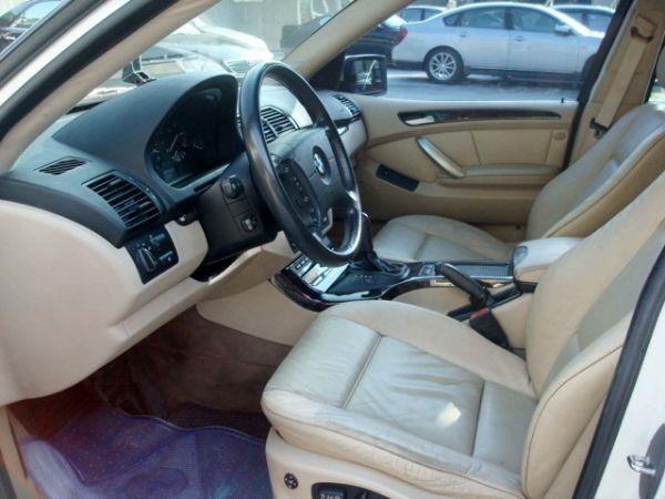 X5 BMW 寶馬 E53 01年白  照片7