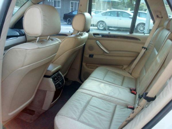 X5 BMW 寶馬 E53 01年白  照片8
