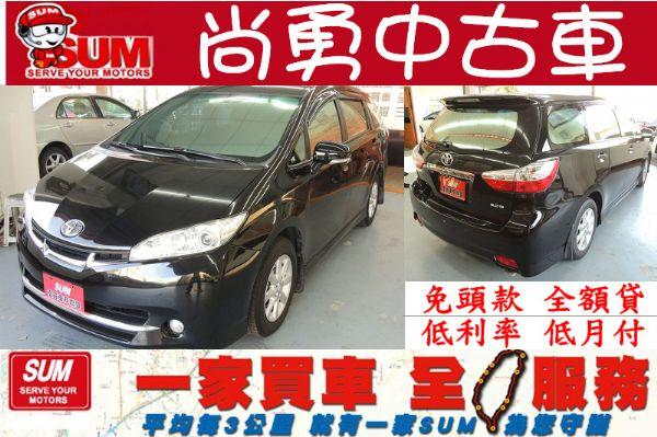 Toyota 豐田 WISH 黑 2.0 照片1
