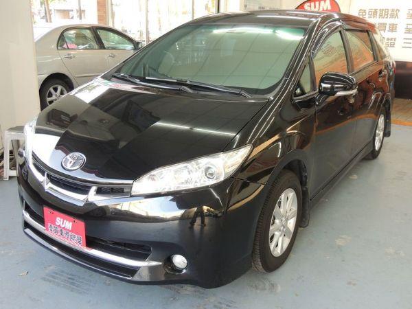 Toyota 豐田 WISH 黑 2.0 照片8