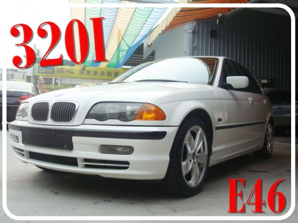 BMW 320I 1998年 2.0白 照片1
