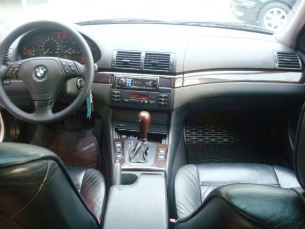 BMW 320I 1998年 2.0白 照片4