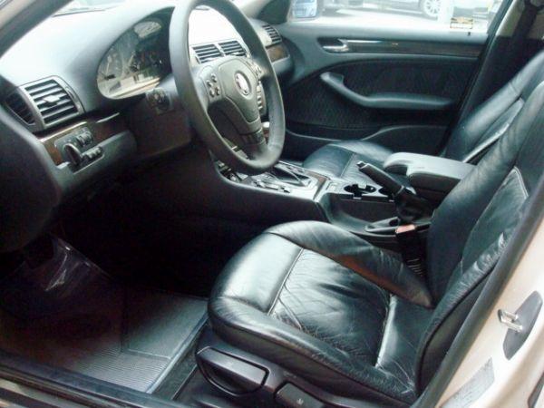 BMW 320I 1998年 2.0白 照片6