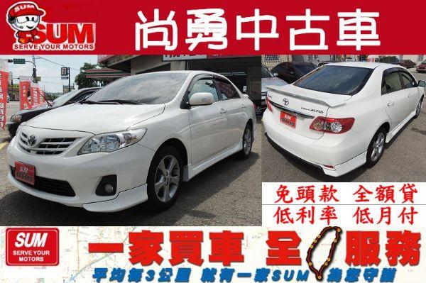 Toyota 豐田 Altis 白  照片1