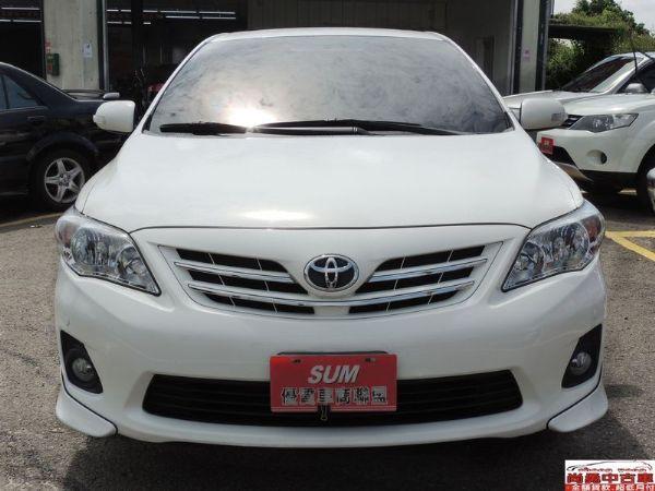 Toyota 豐田 Altis 白  照片2