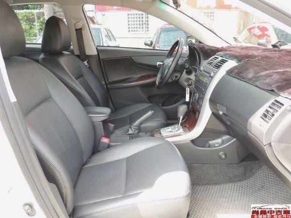 Toyota 豐田 Altis 白  照片5