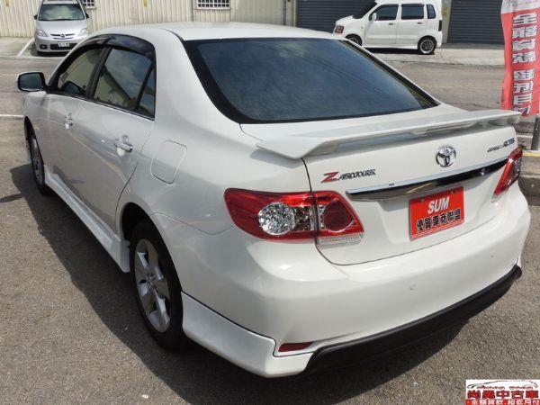 Toyota 豐田 Altis 白  照片8