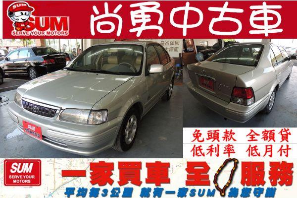 Toyota 豐田 Tercel  銀  照片1