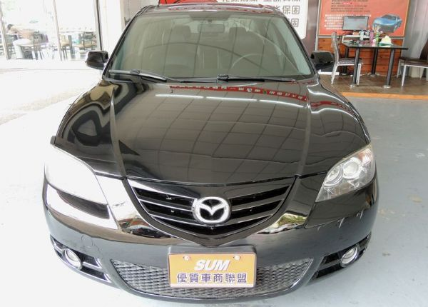 Mazda 馬自達 3S 2.0 黑 照片2