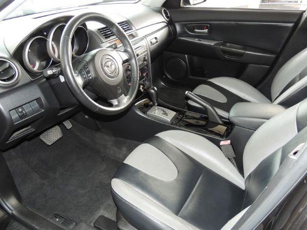 Mazda 馬自達 3S 2.0 黑 照片4