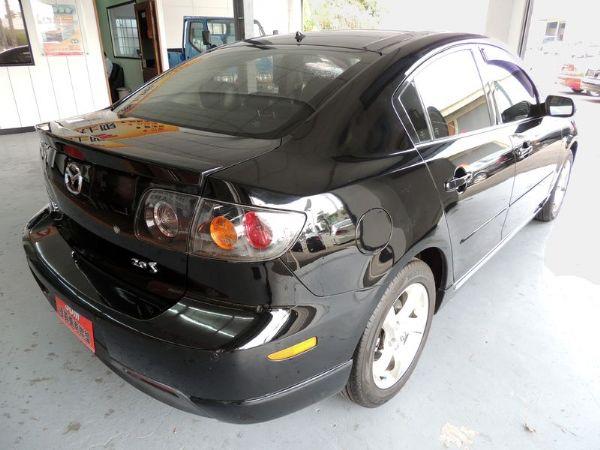 Mazda 馬自達 3S 2.0 黑 照片8