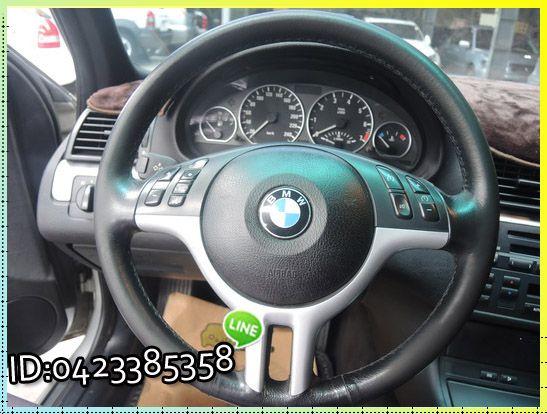 BMW 320 ┌天窗 雙電椅、外觀漆面 照片7