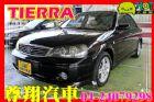 台中市1.6 黑 天窗 VCD FORD 福特 / Tierra RS中古車
