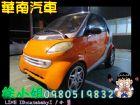 中古車 2000年mcc smart 橘 0.6SMART 斯麥特 / For Two