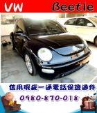 台中市2001年 金龜車 黑 15.8萬 VW 福斯 / Beetle中古車