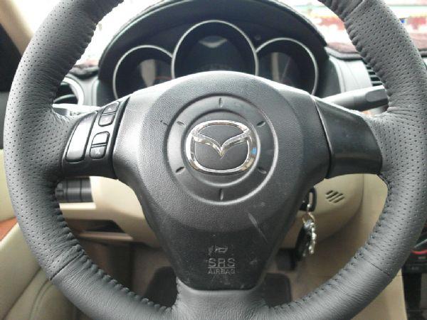 2006年 Mazda3 1.6 白 照片5