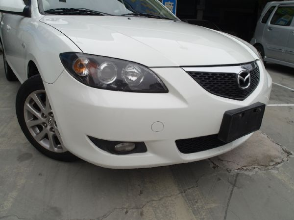 2006年 Mazda3 1.6 白 照片9