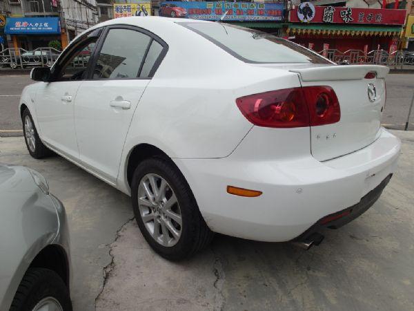 2006年 Mazda3 1.6 白 照片10