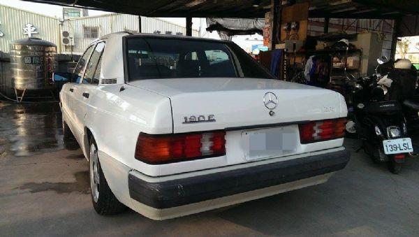 1990年 W201  190E 白色 照片3