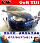 台中市2012年 GOLF TDI 藍 28萬 VW 福斯 / Golf中古車