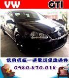 台中市2007年 福斯 狗夫GTI 黑 32萬 VW 福斯 / Golf GTi中古車