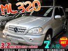 台中市02年 賓士 ML320 4WD 7人 BENZ 賓士 / ML 320中古車