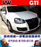 台中市2008年 福斯 狗夫GTI 白 29萬 VW 福斯 / Golf GTi中古車