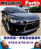 台中市2013年 三菱 佛提斯IO 黑 26萬 MITSUBISHI 三菱 / Fortis中古車