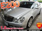 台中市W211 BENZ E200 Sport BENZ 賓士 / E200中古車
