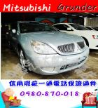台中市2004年 三菱 庫蘭德 銀 8萬 MITSUBISHI 三菱 / Grunder中古車