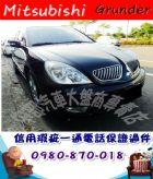 台中市2005年 三菱 庫蘭德 黑 9.5萬 MITSUBISHI 三菱 / Grunder中古車