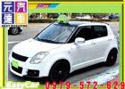 台中市2006年 史威夫 T3包 白 13萬 SUZUKI 鈴木 / Swift中古車