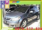台中市2008年 鈴木 SX4 灰 18萬 SUZUKI 鈴木 / SX4中古車