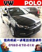 台中市2015年 福斯 POLO 灰 34萬 VW 福斯 / Polo中古車