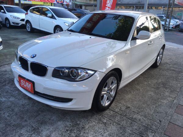 11年式 BMW 118i 2.0 白  照片1