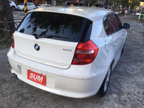 11年式 BMW 118i 2.0 白  照片2