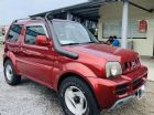 新竹縣認證車 4WD 2004年 1.3 紅色 SUZUKI 鈴木 / Jimny中古車