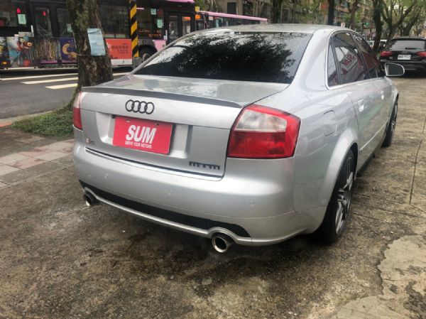 Audi A4 1.8T渦輪16萬8開走 照片2